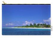 Beach Scene Maldives Carry-all Pouch