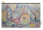 Beach Shack And Sea Shells 1.3 Carry-all Pouch
