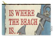 Beach Time 2 Carry-all Pouch