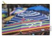 Beach Umbrella Rainbow 2 Carry-all Pouch