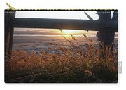 Beach Under Fence Carry-all Pouch