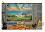 Beach View Carry-all Pouch by Carey Chen