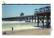 Beach View With Pier 1 Carry-all Pouch by Ben and Raisa Gertsberg