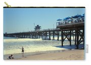 Beach View With Pier 1 Carry-all Pouch
