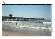 Beach View With Pier 2 Carry-all Pouch