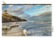 Beach Walk In Winter Carry-all Pouch