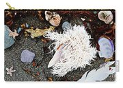 Beach Wares - Shells - Feather Carry-all Pouch