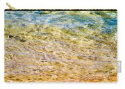 Beach Water Abstract Carry-all Pouch