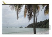 Beach With Palm Tree Carry-all Pouch