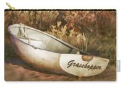 Beached Rowboat Carry-all Pouch by Carol Leigh