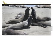 Beachmasters - Elephant Seals Carry-all Pouch
