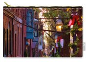 Beacon Hill Streets Carry-all Pouch by Joann Vitali