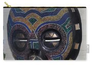 Handbeaded Mask Mexico Carry-all Pouch