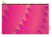 Beaded Pink Carry-all Pouch