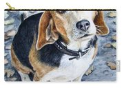 Beagle In Autumn Carry-all Pouch