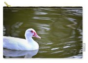 Beak And Feather Reflections Of The Muscovy  Carry-all Pouch