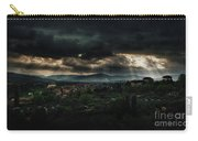 Beams Of Light Over Florence Carry-all Pouch