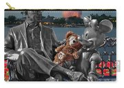 Bear And His Mentors Walt Disney World 05 Carry-all Pouch