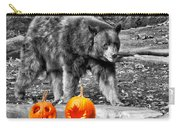 Bear And Pumpkins Too Carry-all Pouch