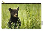 Bear Cub In Clover Carry-all Pouch