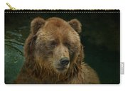 Bear In The Pool Carry-all Pouch