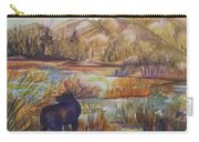 Bear In The Slough Carry-all Pouch