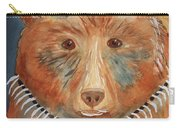 Bear Medicine Carry-all Pouch by Ellen Levinson