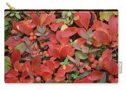 Bearberry In Autumn Yukon Canada Carry-all Pouch
