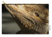 Bearded Dragon Profile Carry-all Pouch