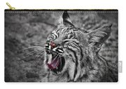 Bearizona Bobcat Carry-all Pouch by Priscilla Burgers