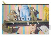 Bearly There Carry-all Pouch by A  Robert Malcom