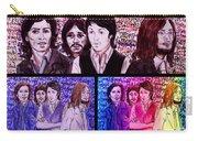 Rainbow Beatles Design Trio Carry-all Pouch