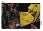 Beauceron Art Canvas Print - Psycho Movie Poster Carry-all Pouch