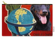 Beauceron Art Canvas Print - The Great Dictator Movie Poster Carry-all Pouch