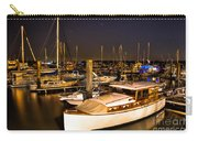 Beaufort Sc Night Harbor Carry-all Pouch by Reid Callaway