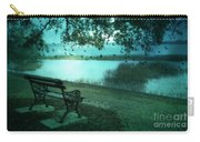 Beaufort South Carolina Surreal Ocean Inland Scene Carry-all Pouch by Kathy Fornal