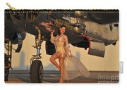 Beautiful 1940s Pin-up Girl Standing Carry-all Pouch