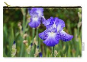 Beautiful And Colorful Iris. Carry-all Pouch