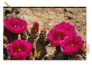 Beautiful Beavertail Cactus Carry-all Pouch