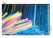 Beautiful Benzoic Acid  Microcrystals Abstract Art Carry-all Pouch