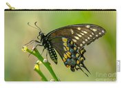Beautiful Black Swallowtail Carry-all Pouch