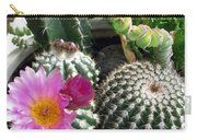 Beautiful Blooming Cactuses Carry-all Pouch