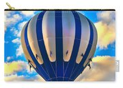 Beautiful Blue Hot Air Balloon Carry-all Pouch