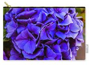 Beautiful Blue Hydrangea Carry-all Pouch