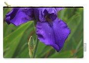 Beautiful Purple Iris Flower Art Carry-all Pouch