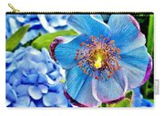 Beautiful Blue Orchid Carry-all Pouch