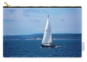Beautiful Boat Sailing At Puget Sound Carry-all Pouch
