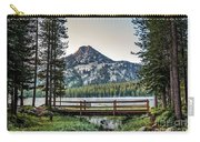 Beautiful Bridge View Carry-all Pouch by Robert Bales