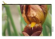 Beautiful Brown Bearded Iris Carry-all Pouch