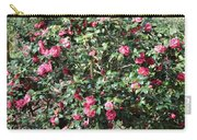 Beautiful Camellia Bush Carry-all Pouch